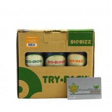 Try pack Indoor BioBizz 3*0,25 л