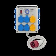 Таймер Бокс II 12x600 Вт (3 фазы) + нагреватель SD21