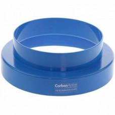 Переходник синего цвета для фильтра Carbon Active 200/125mm